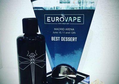 Euro Vape Best dessert award