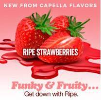 Ryan Flavors - Capella Ripe Strawberries
